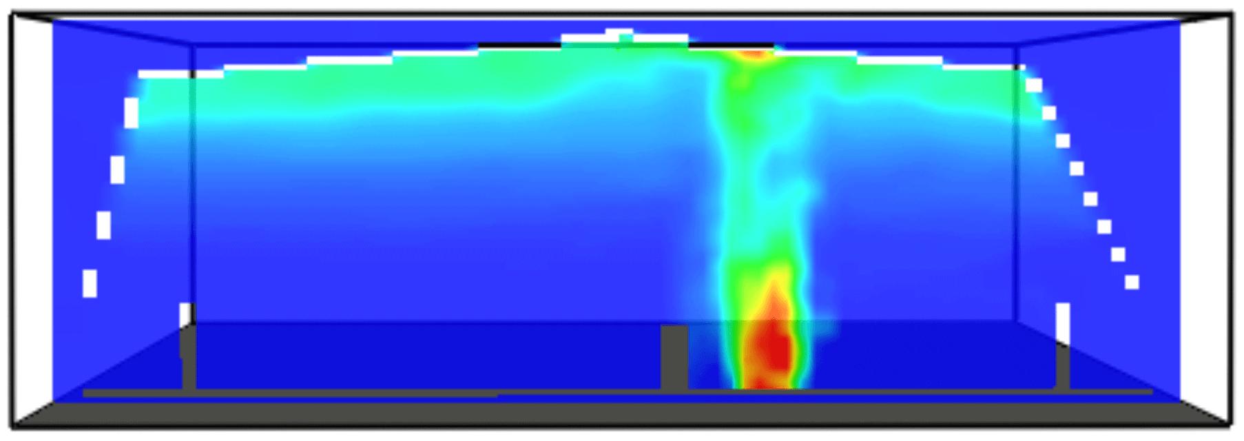simulación de incendios con diseño prestacional