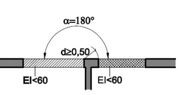 Encuentro sector fachada (transmisión horizontal)
